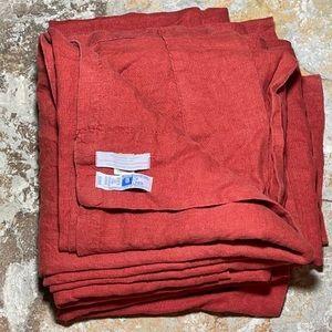 Restoration Hardware 100% Linen Curtains (pair)